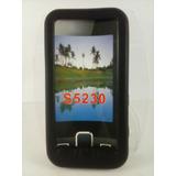 Capa Silicone Preta Samsung Star S5230 S 5230 Tv I6220