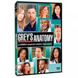 Greys Anatomy Temporada 9 En Dvd Nuevo Original