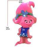 Balão Metalizado Festa Infantil Tema Poppy Trolls