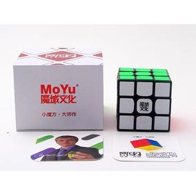 Cubo Rubik 3x3x3 Moyu Weilong Gts 2 - Negro 3x3 * Isf