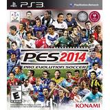 Juego Ps3 Pes Pro Evolution Soccer 2014 Nuevo Fisico