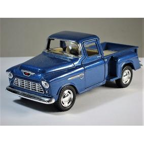´55 Chevy Stepside Pickup Chevrolet Flashsider Kinsmart