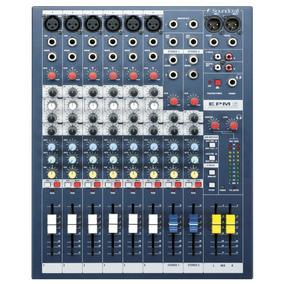 Consola Pasiva Soundcraft Profesional Epm6