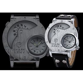Relógio Masculino Shark Army Original - Pronta Entrega