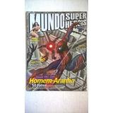 Revista Mundo Dos Super-heróis Nº 9 Dossiê Aranha