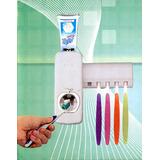 Dispenser Automatico Pasta Dental + Porta Cepillos Oferta