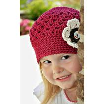 Lindo Gorros Al Crochet Para Bebés Y Niñas Por Mayor Y Menor