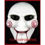 Máscara Saw Juego Del Miedo Macabro Cotillón Disfraz Careta