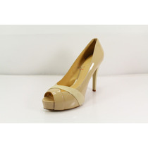 Zapatos D/tacón Reconditioned Guess Mujer Talla 10 Beige