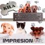 Plaquitas Accesorios Mascotas Perro Gato Identificación