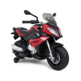 Moto A Bateria 12v Bmw Acelerador En Manubrio Luces Mp3