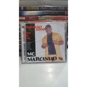 Cd Mc Marcinho - Perfil Ao Vivo - Furacão 2000 (lacrado)