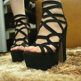 Sandalias De Plataformas Para Damas De Moda