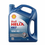 Shell Helix Hx7 10w40 Con Cambio De Aceite Y Filtro