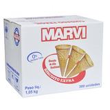 Casquinha Marvi Biscoito Extra P/ Sorvetes - 300 Unidades