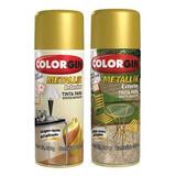 4lata Spray Colorgin Metallik Prata 053 M128775
