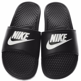 Ojotas Nike Benassi Nuevo Hombre Mujer Oferta Original Negro