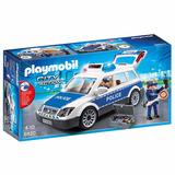 Coche De Policía Con Luces Y Sonidos - Playmobil