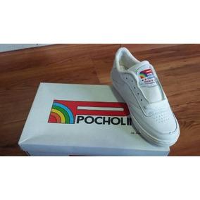 Zapatos Escolare Pocholin Blancos