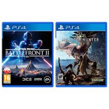 Ps4 Star Wars Battlefront 2 + Monster Hunter World Alclick