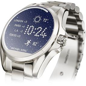 Reloj Michael Kors Inteligente Smart Watch Color Silver