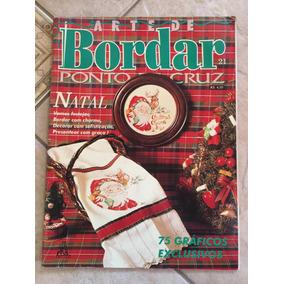 Revista Arte De Bordar Ponto Cruz 21 Natal 75 Gráficos