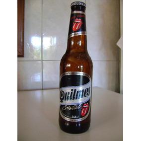 Botella De Cerveza Quilmes Rolling Stones Ed. Especial Llena