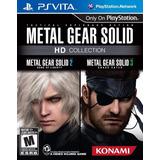 Metal Gear Solid Hd Collection Ps Vita Nuevo Y Sellado