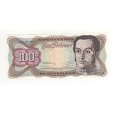 Billete 100 Bolívares Mayo 12 De 1992 Sin Circular