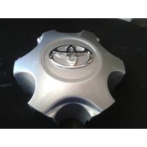 Calota De Centro Do Miolo Roda Toyota Hilux 2013 2014 Prata