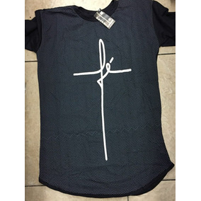 Kit Com 6 Camisetas Masculina Longline - Frete Gratis 96ac112662779