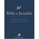 Libro La Biblia De Jerusalén