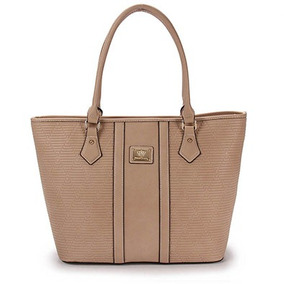 Bolsa Shopping Bag Queens - Bege U
