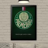 3a8d52742f Placa Decorativa Brasão Escudo Time Palmeiras Qualidade