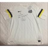 Camiseta Santos _ Autografada Pelo Pelé