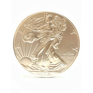 Moneda Onza Troy  Plata 999 Liberty 1 Dollar