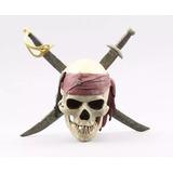 Caveira Piratas Do Caribe Jack Sparrow - Envio Imediato