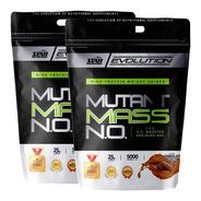 Mutant Mass 2 X 5 Kg Star Nutrition Ganador De Peso