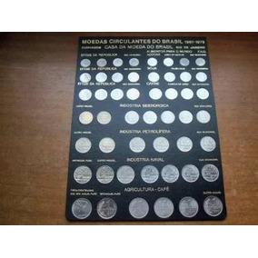 Coleção: Cruzeiro Completa Moedas De 1967 Até 1978+moeda