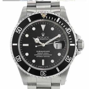 Reloj Rolex Submariner De Acero Inoxidable De Hombre