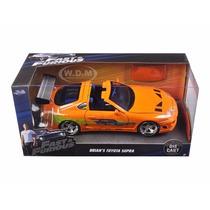 Auto Coleccion Rapido Y Furioso Metal Toyota Supra 1:24