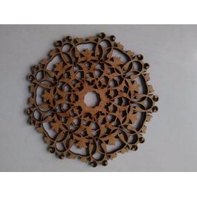 Escultura De Parede Placa Mandala Holandesa Decoraçao
