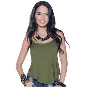 Blusa Juvenil Femenino Marketing Personal 50185 Verde Milita
