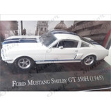 Ford Mustang Shelby Gt-350 1965 De Coleccion 1:43 Gomas Sym