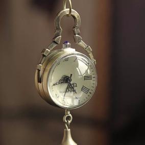 Relógio De Bolso - Retro - Colar - Antigo - Rústico