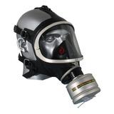 Máscara De Gas Facial Inteira Contra Gases Filtro