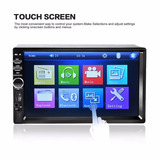 Autoradio 7 Pantalla Hd, Mp5, Bluetooth, Usb, Fm, Sd, Videos