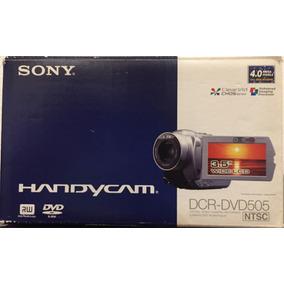 Videocámara Sony Dcr-dvd505 Incluye Estuche Y 5 Discos