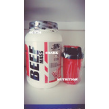 Beff Mass 2kg Proteína Ganador Masa Muscular+shaker+delivery
