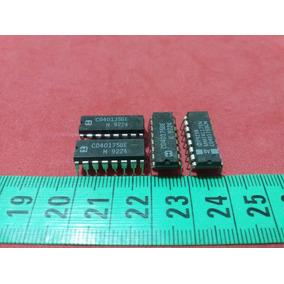 Cmos Cd 40175 Be Quad D-type Flip-flop